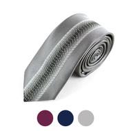 "Microfiber Poly Woven 2.25"" Slim Panel Tie - MPWS6056-57"