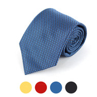 Dotted Microfiber Poly Woven Tie - MPW5708