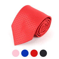 Dotted Microfiber Poly Woven Tie - MPW5703