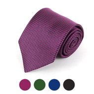 Dotted Microfiber Poly Woven Tie - MPW5711