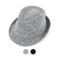 6pc Two Sizes Boy's Fall/Winter Fedora Hats - BF3061
