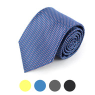 Dotted Microfiber Poly Woven Tie - MPW5709