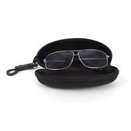 Semi Hard Zip Up Sunglasses Eyeglasses Case w Belt Loop