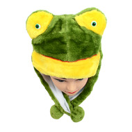 6pc Pre-Pack Animal Fleece Hats - Frog HATCW111439