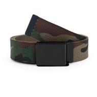12pc Size Assorted Men's Flip-To Buckle Military Camo Canvas Belt MILB3304