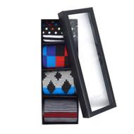 Fancy Multi Colored Socks Gift Box (4 Pairs in Box)  SFGB23