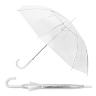 6pc See-Thru Premium Clear Umbrella UM5001