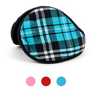 6pc Pack Plaid Ear Warmers EM1090-1