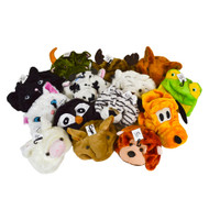 72pc Prepack Assorted Animal Hats HATC72ASST
