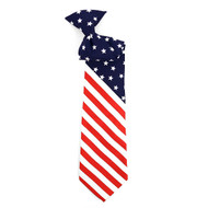 Boy's American Flag Novelty Tie BNC2609