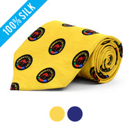 100% Silk Camel Badge Novelty Tie NV3100
