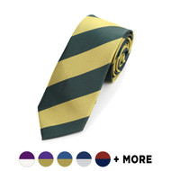 Men's Microfiber Poly Woven College Slim Tie MPWS2400