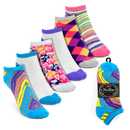6pairs Women's Multicolor Low Cut Socks LN6S16212