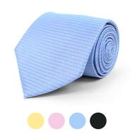 Pin Dot Microfiber Poly Woven Tie - MPW5826