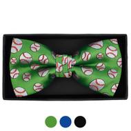 Men's Baseball Banded Bow Tie