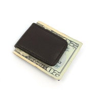 Brown Leather Money Clip MC2096-BR