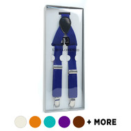 Men's Boxed Clip-on Suspenders CSB4601-Slim