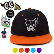 Patches Two Tone Flat Bill Snapback Cap - FBFCAP2P
