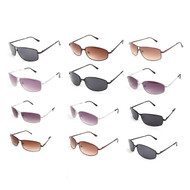 12pc. Unisex Random Assorted Metal Sunglasses MS-ASST