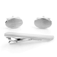 Cufflink and Tie Bar Set CTB2540