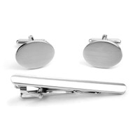 Cufflink and Tie Bar Set CTB2542