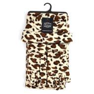 6pc Pack Women's Jaguar Print Fleece Winter Set WNSET9015