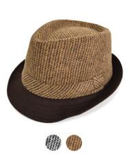 6pc Fedora Hat H9377