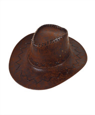 "6pc Pack 3.5"" Brim Cowboy Hat H9313"