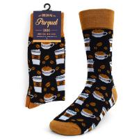 12pairs Men's Coffee Cups Novelty Socks