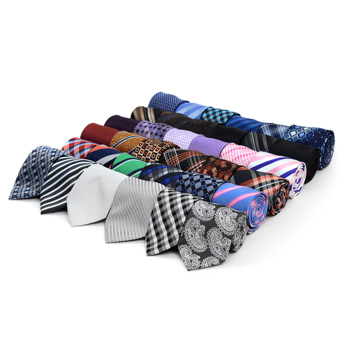 36pc Randomly Assorted Pre-pack Poly Woven Ties