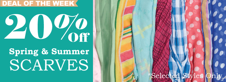 Wholesale Spring & Summer Scarves On Sale Now!