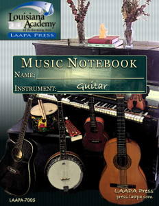 Music Assignment Notebook - Guitar Edition
