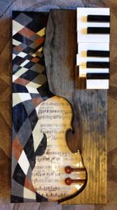 """""""Untitled'"""" - Violin & Piano Art"""