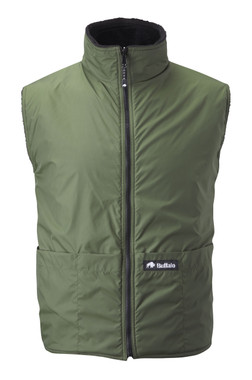 Reversible Body Warmer Olive