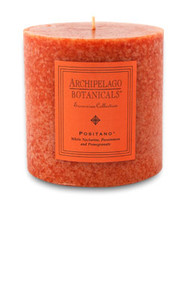 "Archipelago Excursion Collection Positano 3.50"" x 3.50"" Pillar Candle"