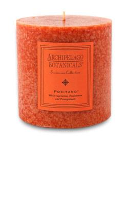 """Archipelago Excursion Collection Positano 3.50"""" x 3.50"""" Pillar Candle"""