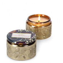 Voluspa Japonica Collection Crane Flower Small Glass Jar Candle