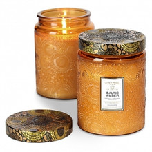 Voluspa Japonica Collection Baltic Amber Limited Edition Glass Jar Candle