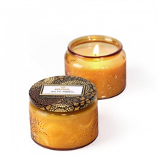 Voluspa Japonica Collection Baltic Amber Limited Edition Small Glass Jar Candle
