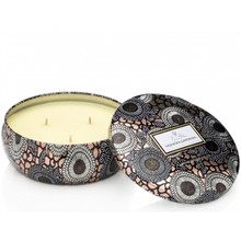 Voluspa Japonica Collection Yashioka Gardenia Limited Edition Three Wick Tin Candle