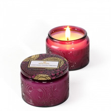 Voluspa Japonica Collection Santiago Huckleberry Limited Edition Small Glass Jar Candle
