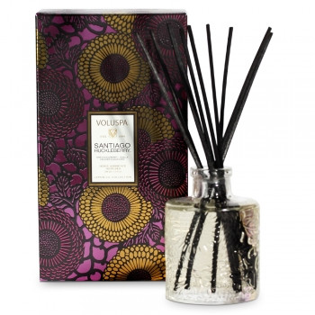 Voluspa Japonica Collection Santiago Huckleberry Limited Edition Home Ambience Diffuser