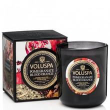 Voluspa Maison Noir Collection Pomegranate Blood Orange Classic Maison Candle