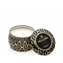 Voluspa Maison Noir Collection Ambre Lumiere Travel Tin Candle