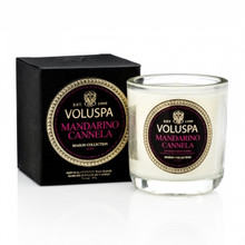 Voluspa Maison Noir Collection Mandarino Cannela Classic Boxed Votive Candle