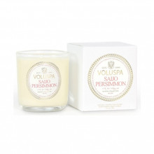 Voluspa Maison Noir Collection Saijo Persimmon Classic Boxed Votive Candle