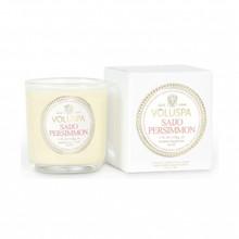 Voluspa Maison Noir Collection Saijo Persimmon Classic Boxed Votive Candle