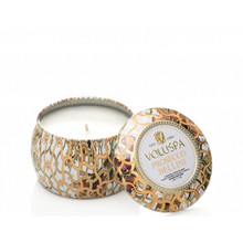 Voluspa Maison Blanc Collection Prosecco Bellini Travel Tin Candle