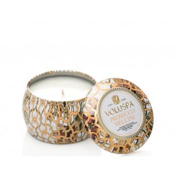 Voluspa Maison Blanc Collection Prosecco Bellini Travel Tin Candle