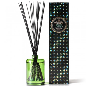 Voluspa Maison Holiday Collection Spruce Cuttings Home Ambience Diffuser